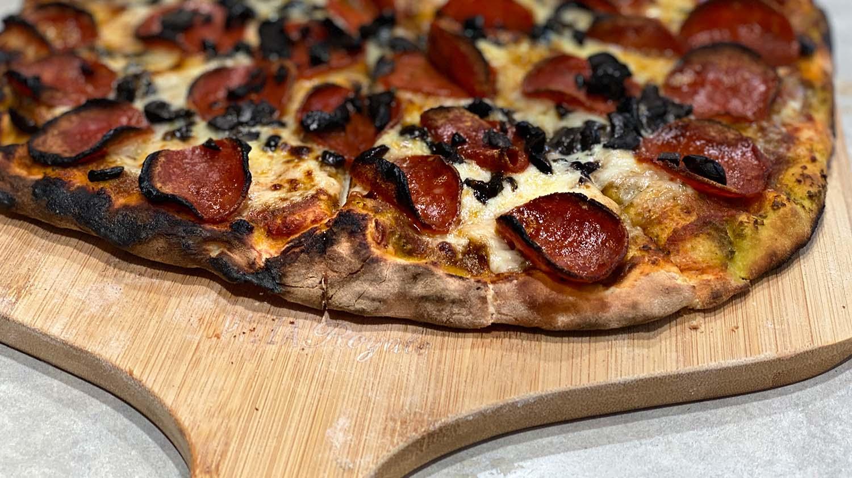 Ooni Karu Pizza Oven Finished Pizza