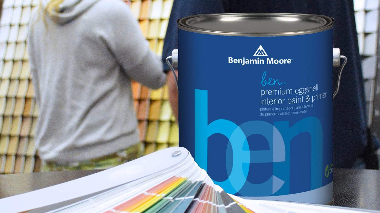 Paint Into Possibilities- Benjamin Moore Blog