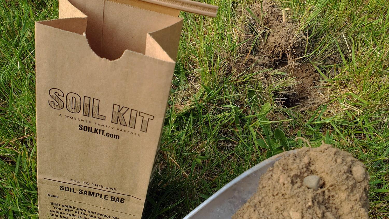 Soil Kit Bag and Shovel with Soil