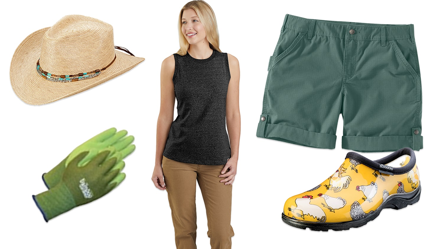 Dressing for the Summer - Working in the Garden