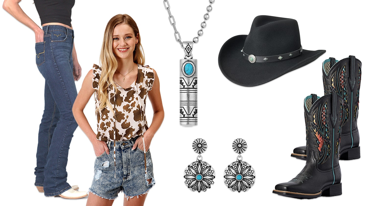 Dressing for the Summer - Cowgirl Vibes