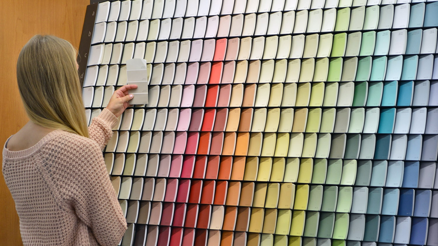 Paint Into Possibilities- Benjamin Moore - paint chips
