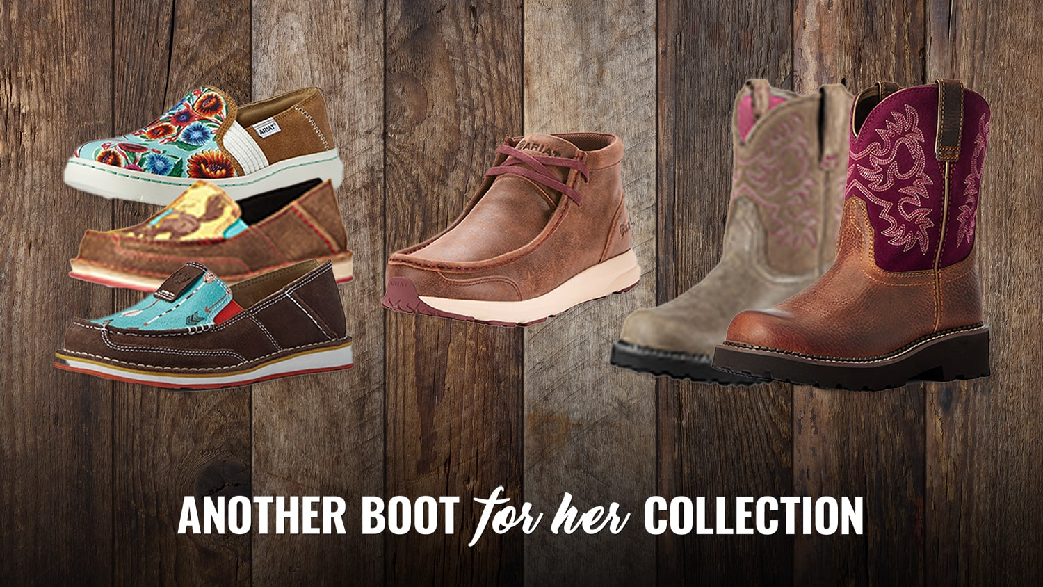 Great Gift Ideas for Mother's Day Blog - Ariat Cruisers, Fat Baby, Spitfire