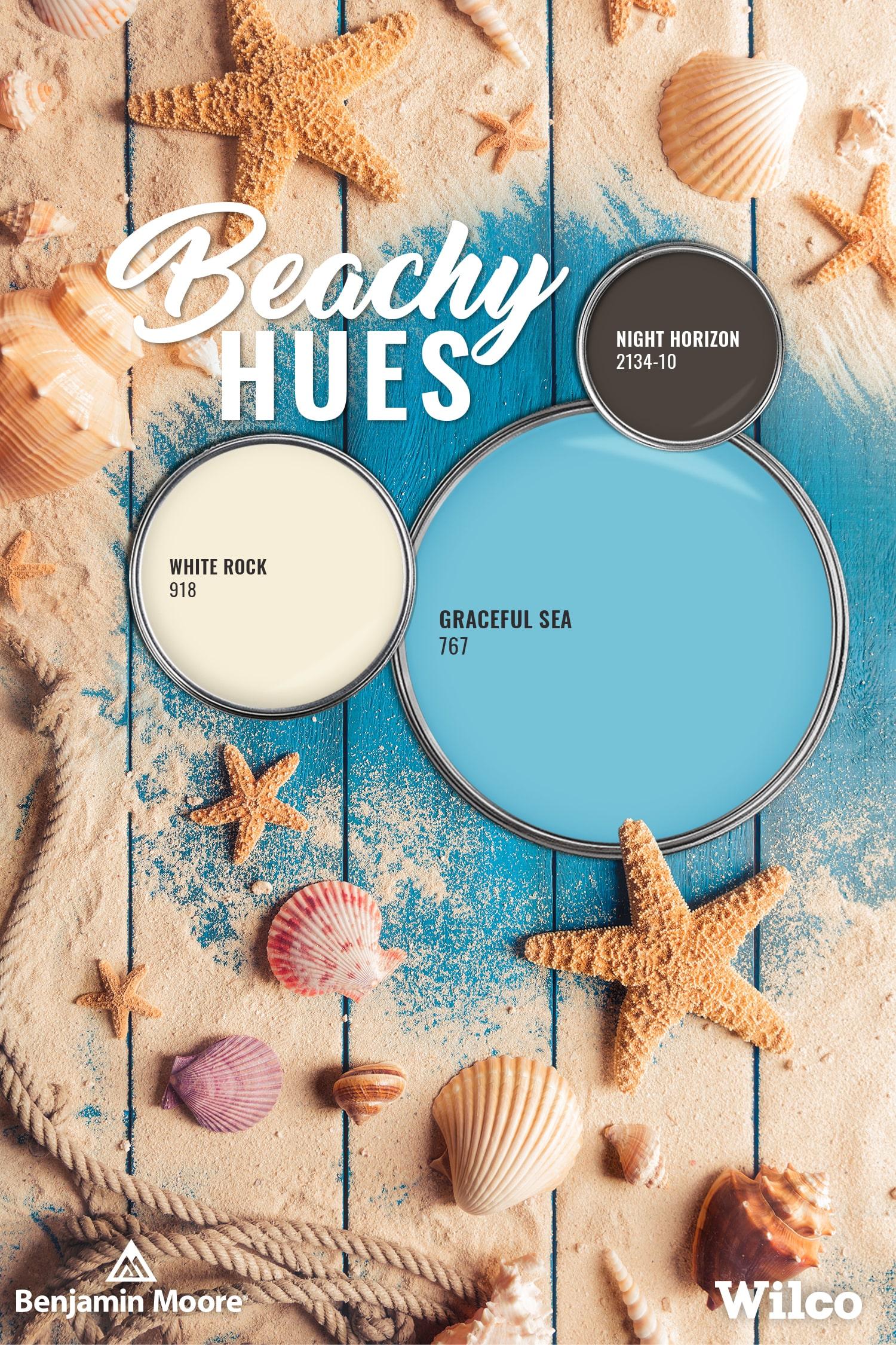 Beachy Hues Paint Palette Blog