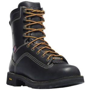 Danner Black Quarry Waterproof Work Boots 17309