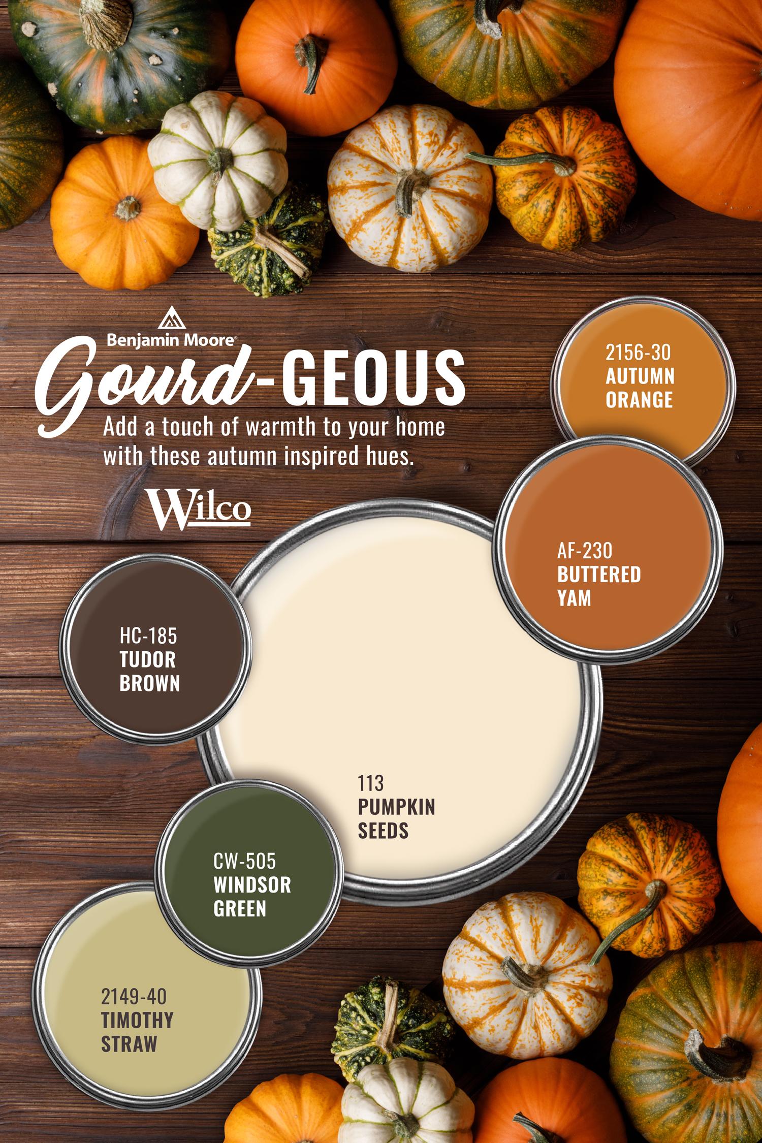 Gourd-geous Hues