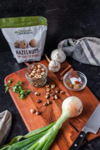 ingredients for Lamb Kofta