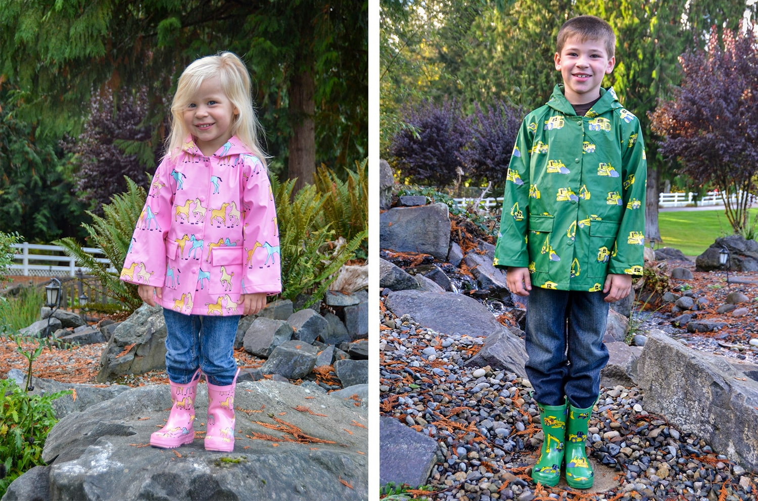 Kids Rainwear - Firefox Blog