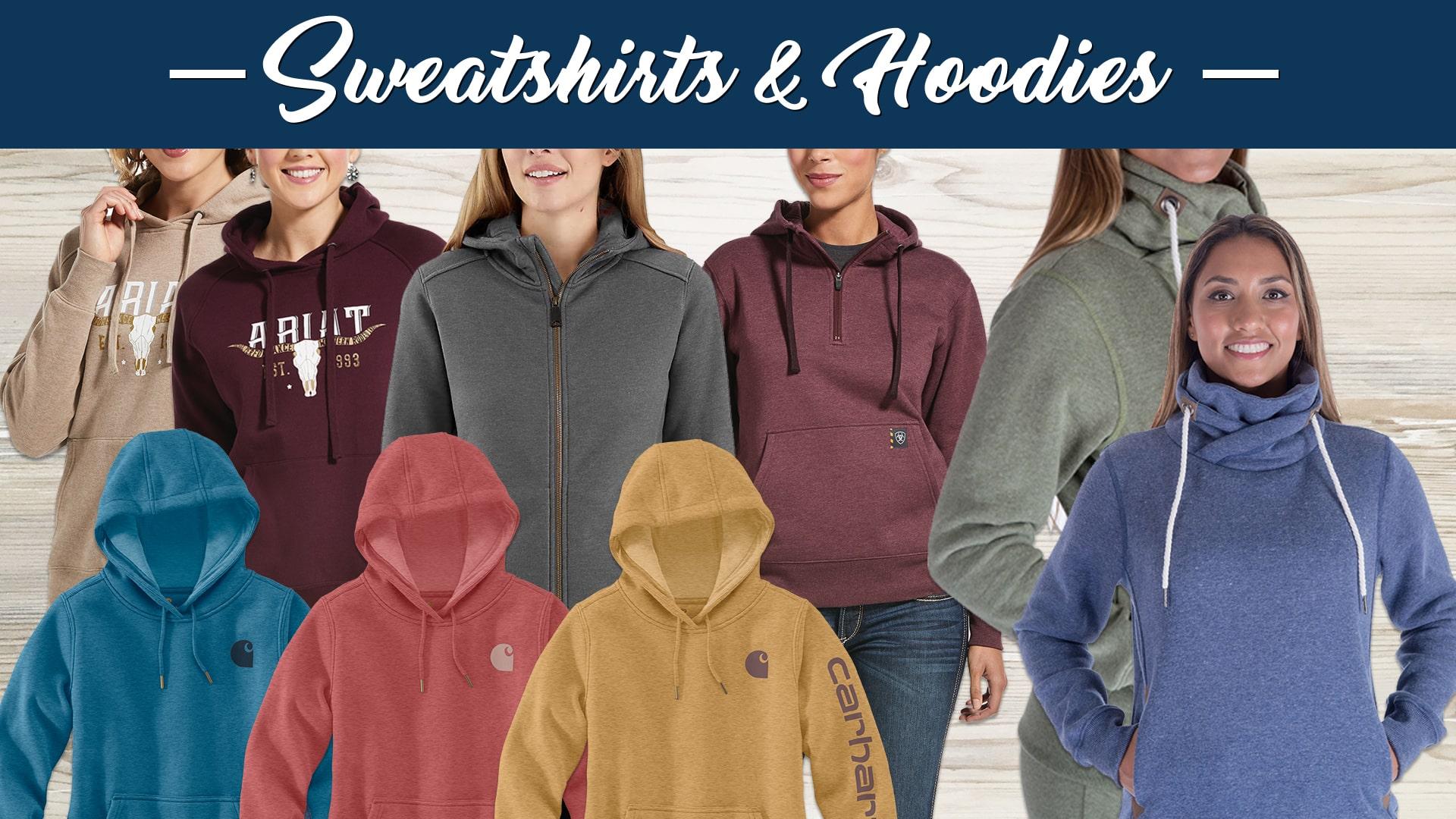 New Ladies Fall Styles Sweatshirts