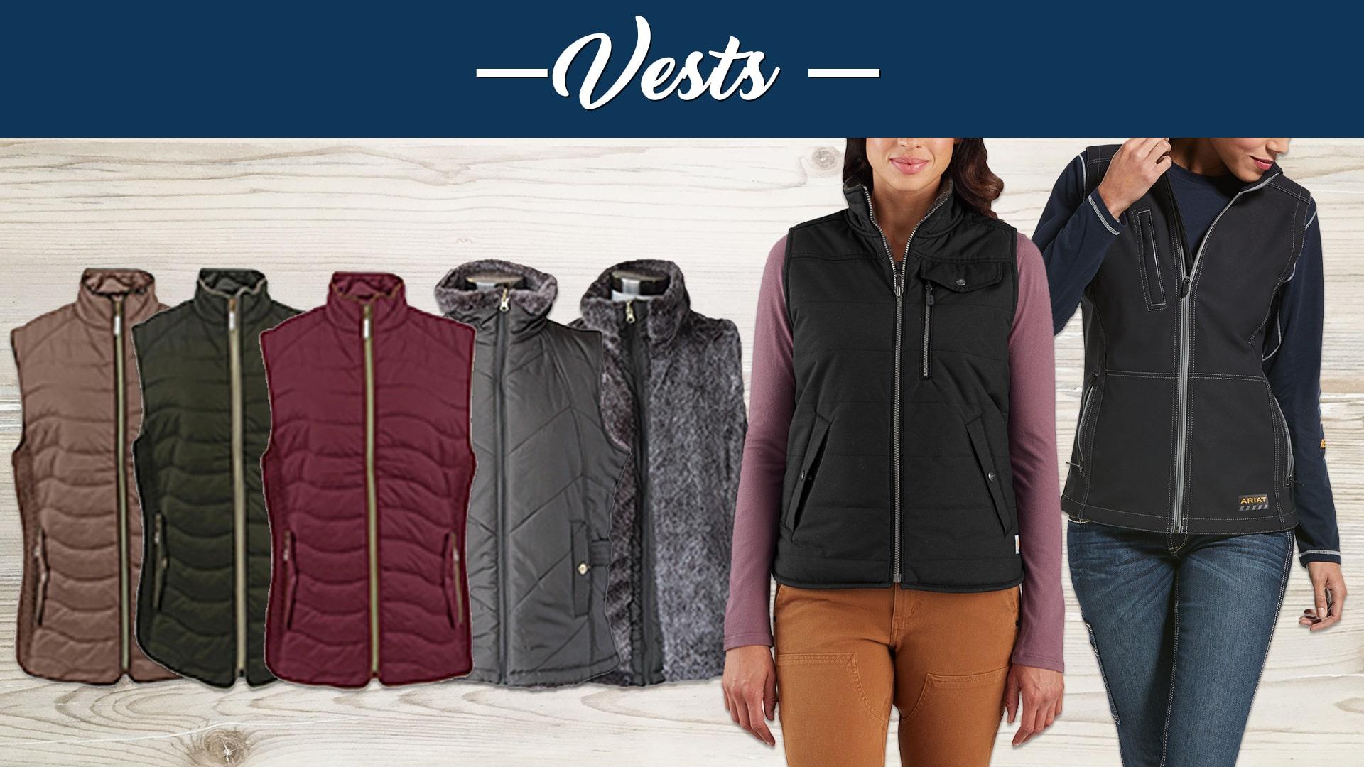 New Ladies Fall Styles Vests