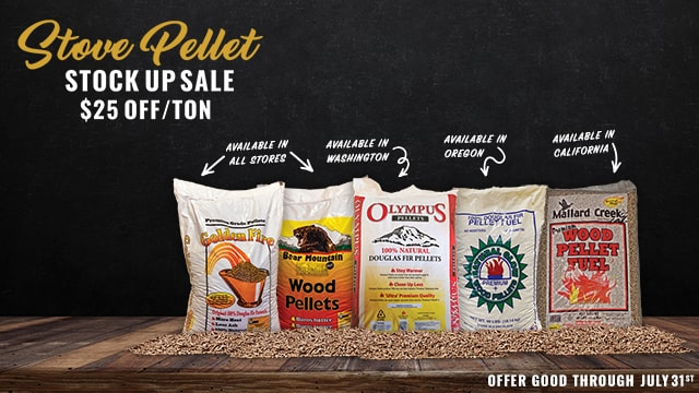 Stove Pellet Stock Up 20 21