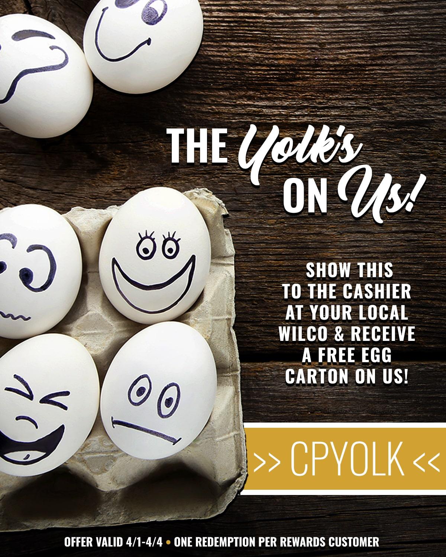 Yolks On Us