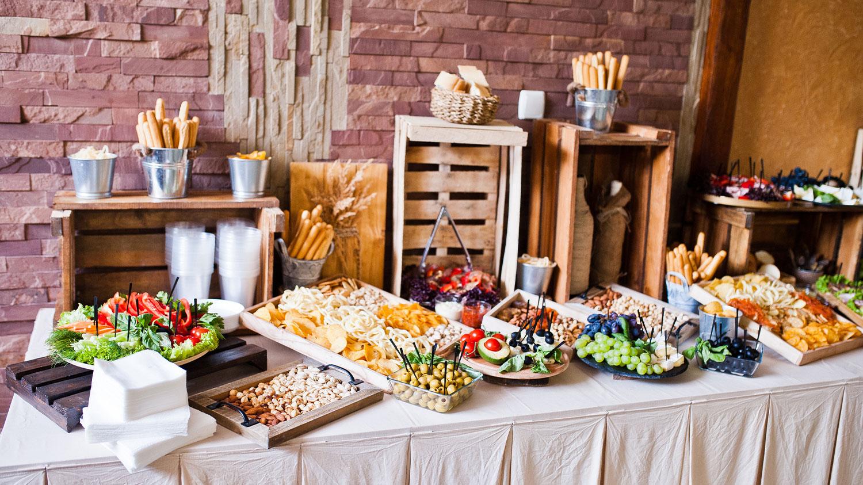 Barnyard Birthday Food Spread